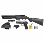Smith & Wesson M3000 On Duty Kit, Airsoft Shotgun and Pistol Combo