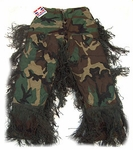 Sniper Ghillie Pants Woodland