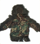 Sniper Ghillie Suit Jacket Woodland