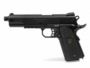 Socom Gear 1911 Full Metal Gas Blowback Airsoft Pistol, Black