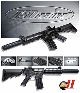 SRC TSD Tactical Gen-II AEG model M4-SD CQB Airsoft Rifle