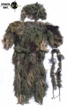 StealthSuit Ghillie Set - Woodland Medium-XL