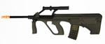 Steyr AUG A1 Military AEG Airsoft Rifle, Sportline Package by ASG