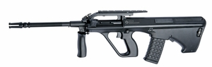 Steyr AUG A2 AEG Airsoft Rifle by ASG, Fully Licensed, Discovery Line Value Package