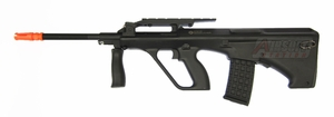 Steyr AUG A2 AEG Airsoft Rifle, Sportline Package by ASG