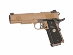 STI Tac Master Full Metal CO2 Blowback Airsoft Pistol by ASG, Desert Tan
