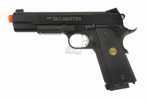 STI Tac Master Metal Gas Blowback Airsoft Pistol by ASG