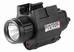 Swiss Arms Flashlight/Laser Set, Black, Box