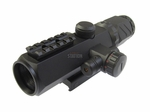 Tactical 2-6x32 Aluminum Alloy Scope w/ Built in Laser and Re/Green Illuminated Reticle