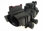 Tactical 4X32 Red/Green/Blue Illumination Sight with 20mm Rail and Optical Sight