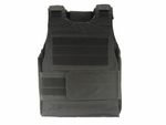 Tactical Airsoft Vest, Black Velcro