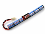 Tenergy 8.4V 1600 mAh NiMh Stick Type Battery
