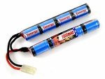 Tenergy 9.6v 1600 mAh Nunchuck Battery