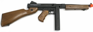 Thompson M1A1 Electric FULL METAL Airsoft Rifle by Cybergun - REFURBISHED