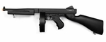 Thompson M1A1 Military AEG with Drum Magazine by Cybergun