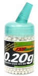 TSD Competition Grade AEG 6mm plastic airsoft BBs, 0.20g, 1000 rds, white