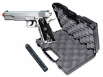TSD Sports 1911 Style CO2 Powered Airsoft Pistol, Silver