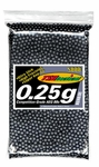 TSD Tactical 5000 0.25g 6mm Black Airsoft BBs