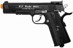 TSD Tactical-601 CO2 Blowback M1911, Metal Slide 450+ FPS, Black