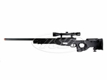 TSD Tactical SD99 Bolt Action Airsoft Sniper Rifle, Black