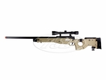 TSD Tactical SD99 Bolt Action Airsoft Sniper Rifle, TAN