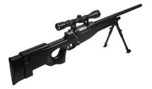 TSD Tactical Series Type 96 Sniper Combo, Black