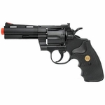 "UHC Airsoft Revolver 4"" Barrel - Black"