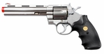 "UHC Airsoft Revolver 6"" Barrel - Silver"