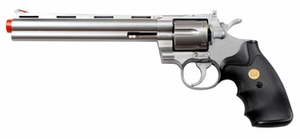 "UHC Airsoft Revolver 8"" Barrel - Silver"