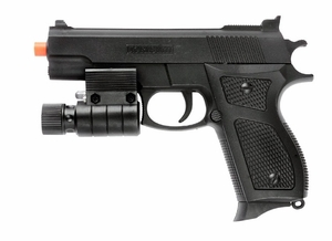 UK Arms M777R Spring Airsoft Pistol with Laser Sight