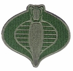UKARMS Cobra Commander Velcro Patch (OD)