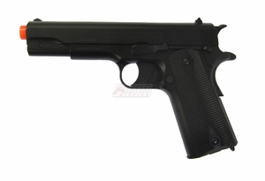 US Army Duty Calls Full Metal 1911 Govt. Model CO2 Blowback Airsoft Pistol