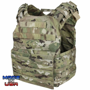Condor US1020 Cyclone Lightweight Plate Carrier, Multicam
