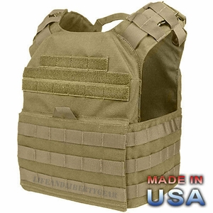 Condor US1020 Cyclone Lightweight Plate Carrier, Tan