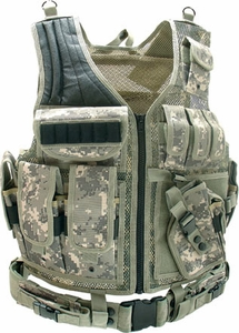 UTG Airsoft Deluxe Tactical Vest Digital (Army Digital Camo)