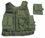 UTG Airsoft Deluxe Tactical Vest (OD Green)