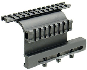 UTG AK Side Mount with Double Rails