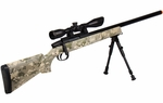 UTG Master Sniper Airsoft Rifle Kit, Army Digital Camo