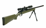 UTG Master Sniper Airsoft Rifle Kit, OD Green