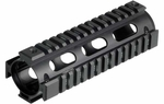 UTG Pro M4 Carbine Length Quad Rail System, RIS, Black