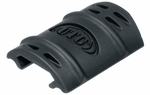 UTG Rubber Rail Covers, Black (12 pack)