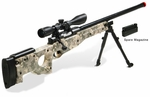 UTG Type 96 Shadow Ops Airsoft Sniper Rifle Kit, Army Digital Camo