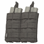 V-TAC M4/M16 Double Magazine Pouch - Tactical Black