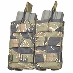 V-TAC M4/M16 Double Magazine Pouch - Tiger Stripe