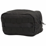 V-TAC Zipper Pouch - Tactical Black