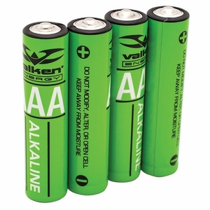 Valken Energy AAA Alkaline Batteries, Pack of 4