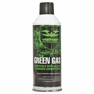 Valken Green Gas, 8oz Bottle - GROUND SHIPPING ONLY