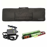 Valken Gun Bag, Smart Charger, and 9.6V Battery Combo