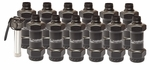 Valken Tactical Thunder B Grenade Starter Kit, 12 Pack w/ Core, Dumbell Style