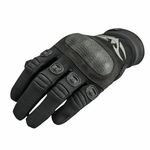 Valken Zulu Tactical Hard Knuckled Gloves, Black